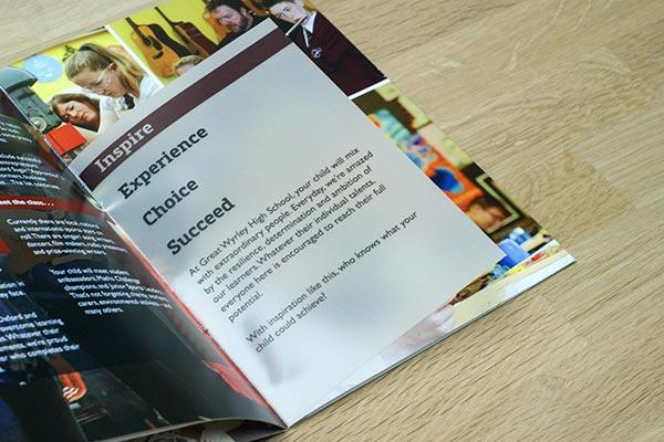School Prospectus Formats