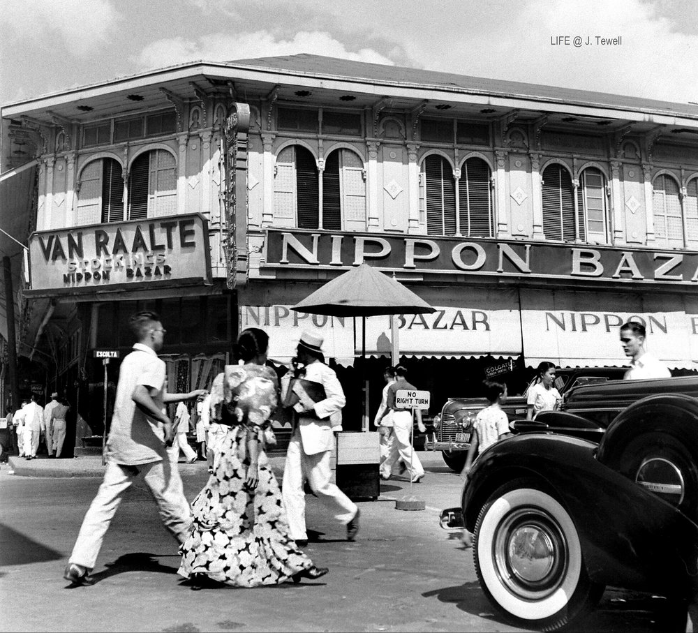 Manila before the bombing.
