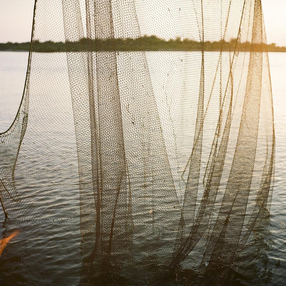 FISHERMEN ON THE GULF