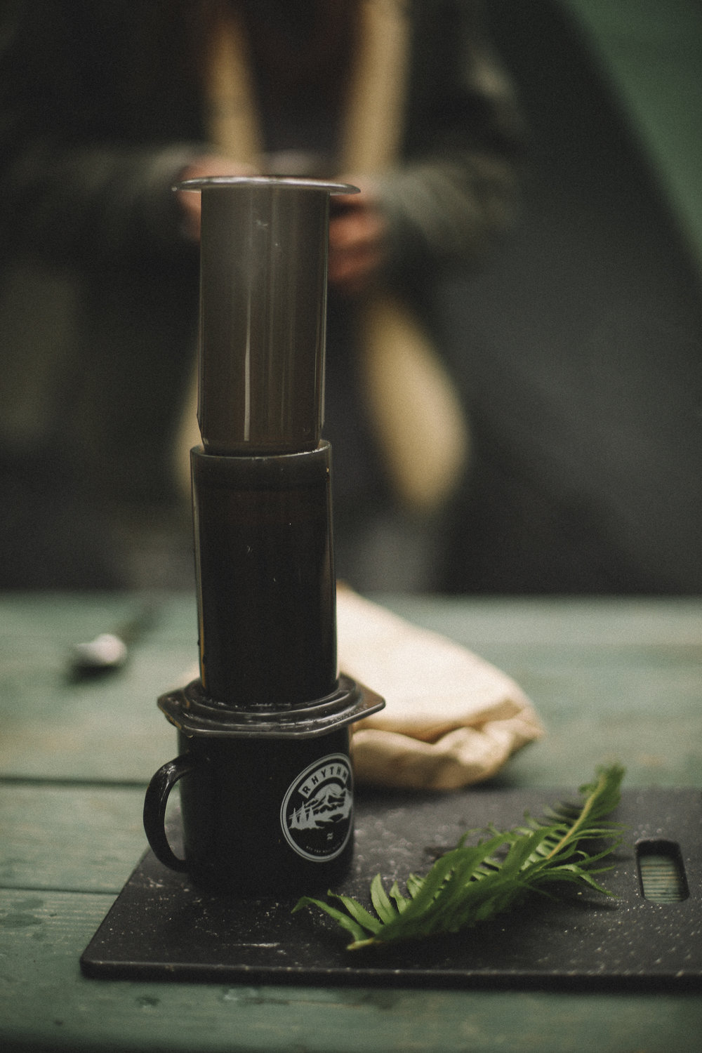 Aeropress Coffee- Camping coffee- Rachael Alexandra.co-  Victoria BC Photographer