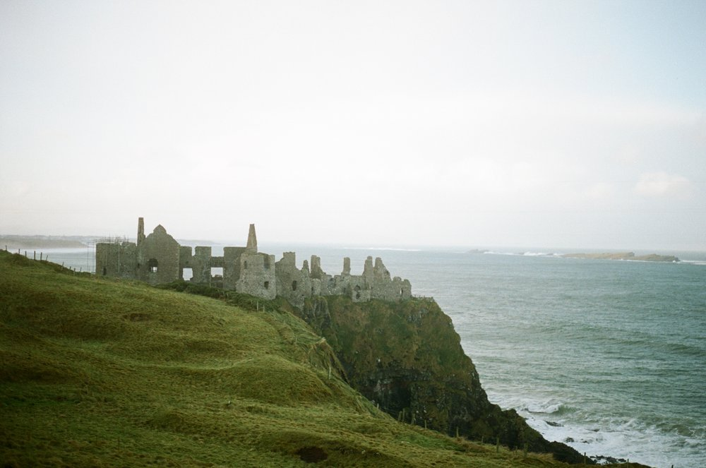 Dunlace Castle // Northern Ireland // Film Photography // RachaelAlexandra.co