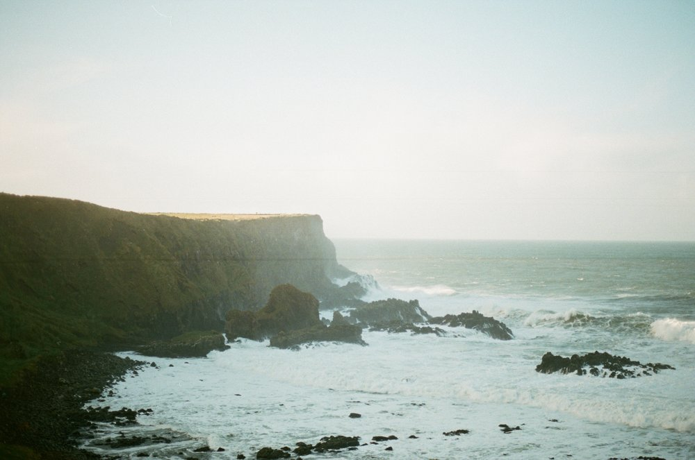 Northern Ireland- Giants Causeway // Film Photography // Rachael Alexandra.co