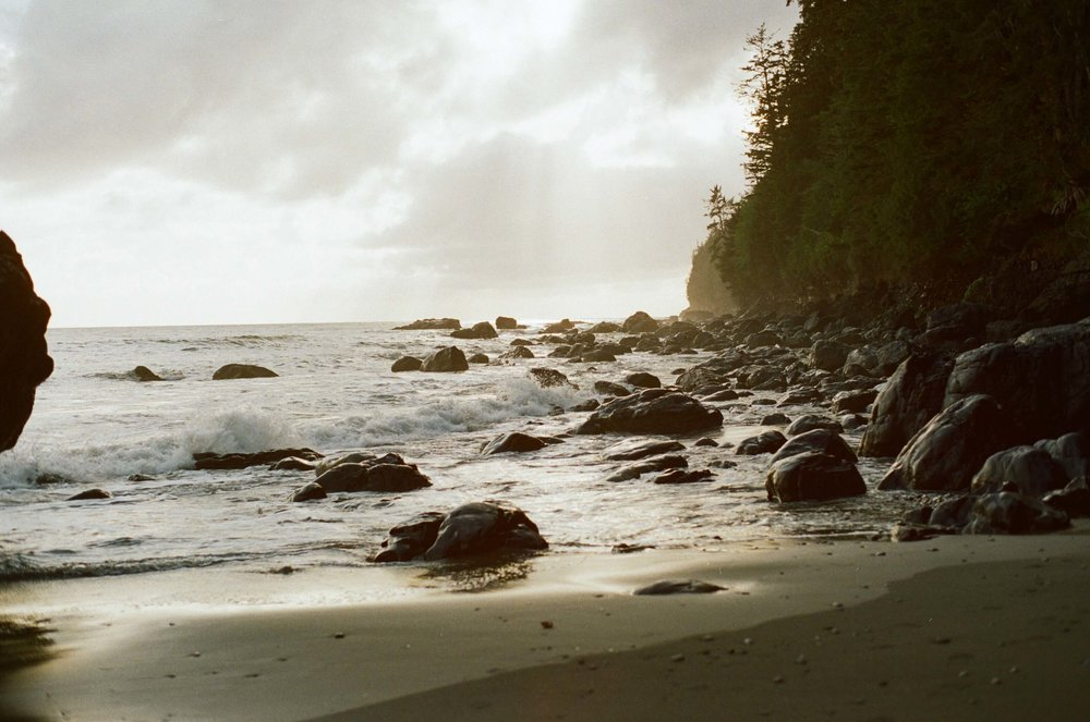 Mystic Beach Victoria BC on 35mm Film // Rachael Alexandra.co // Vancouver Island Photographer