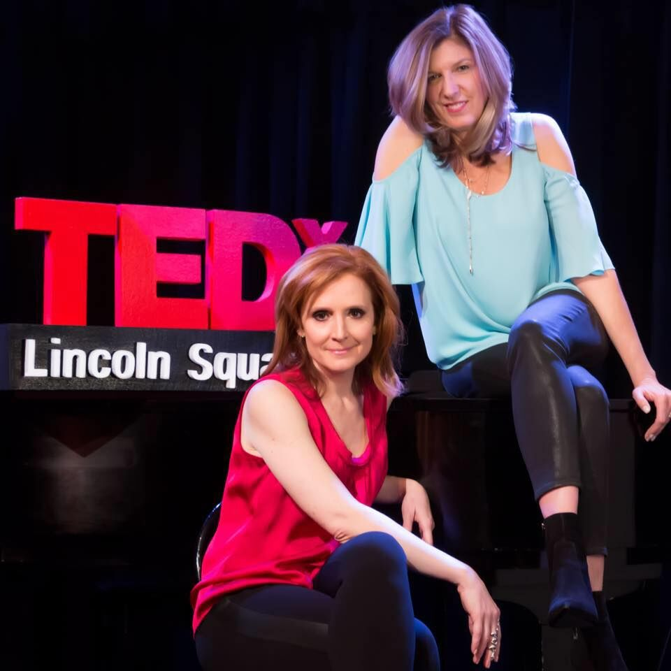 SYLVIA HOKE PHOTOGRAPHY  Tricia, executive producer of  TEDxLincolnSquare in New York City along side co-organizer and director of marketing, Jamie Broderick.