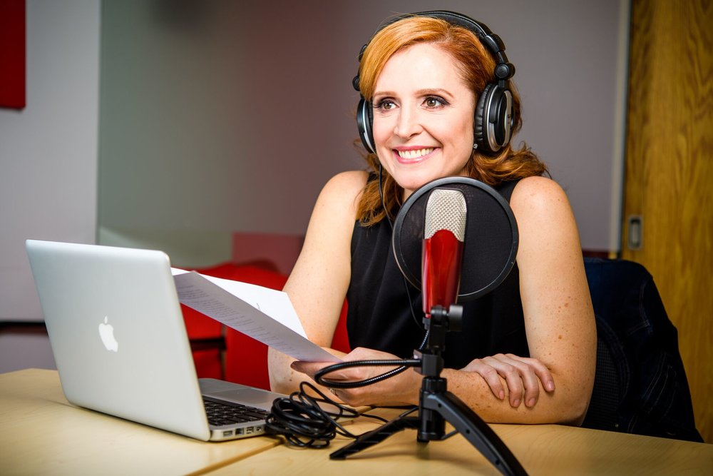 JOHN DEMATO; DEMATO PRODUCTIONS  Tricia has recorded 102 episodes of her podcast The Big Talk. You can listen to past episodes on  iTunes and subscribe to her podcast to be notified of new episodes from  Season 5 , which is launching July 25th.