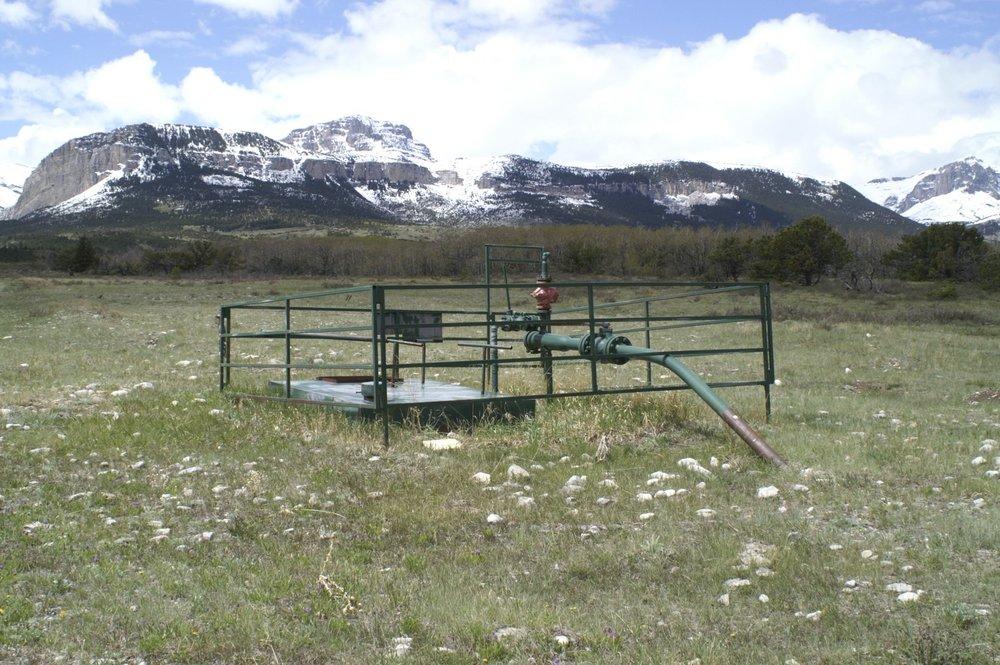 Blackleaf Gas Wellhead Sites - Soil Sampling