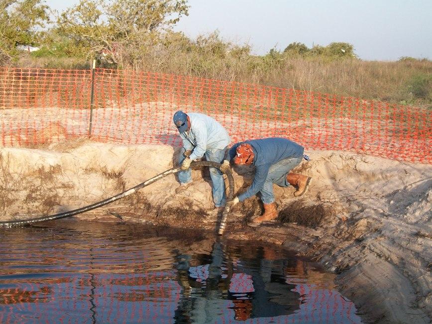 Crude Oil Line Release Site - Remediation
