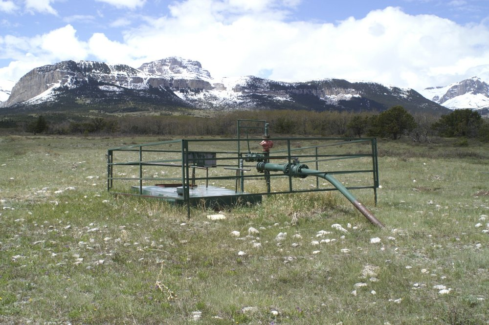 Blackleaf Gas Wellhead Sites