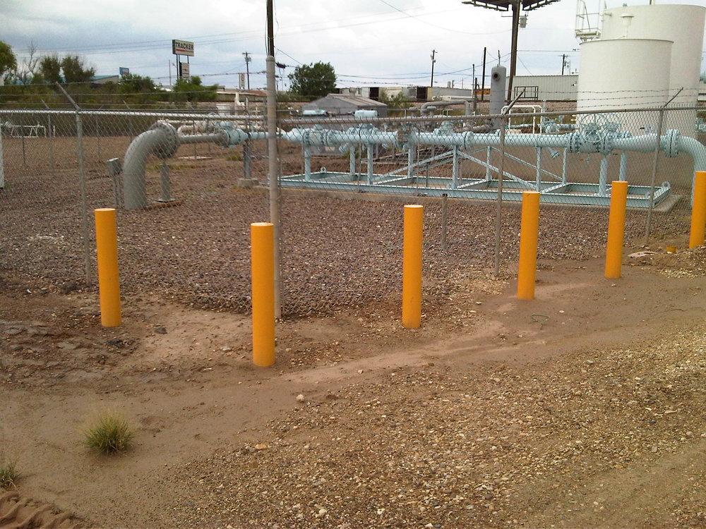 Larado Gas Yard