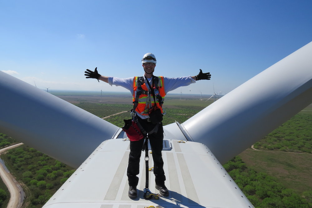 Dave on Turbine 2.JPG