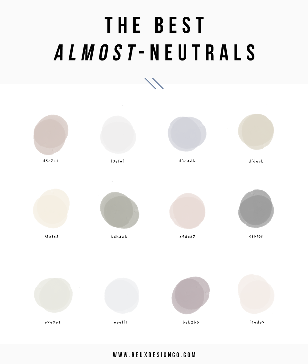 Best Neutral Colors for Branding | Creative Business Branding | Reux Design Co.