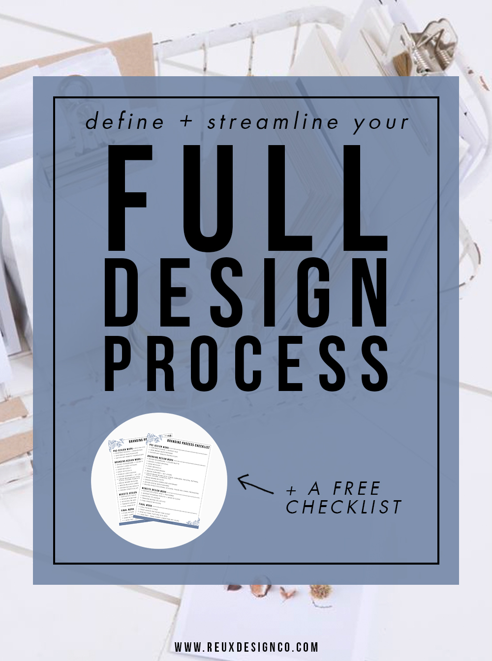 Map out your Step By Step Design Process | Design Tips | Small Business | Design process
