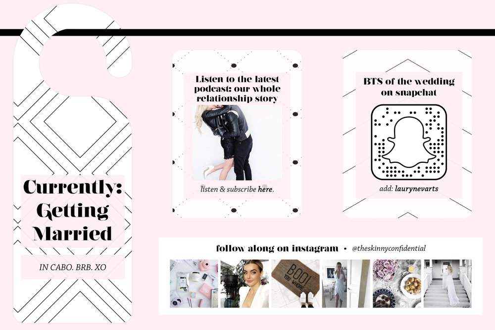 THE SKINNY CONFIDENTIAL blog graphics | by Reux Design Co.