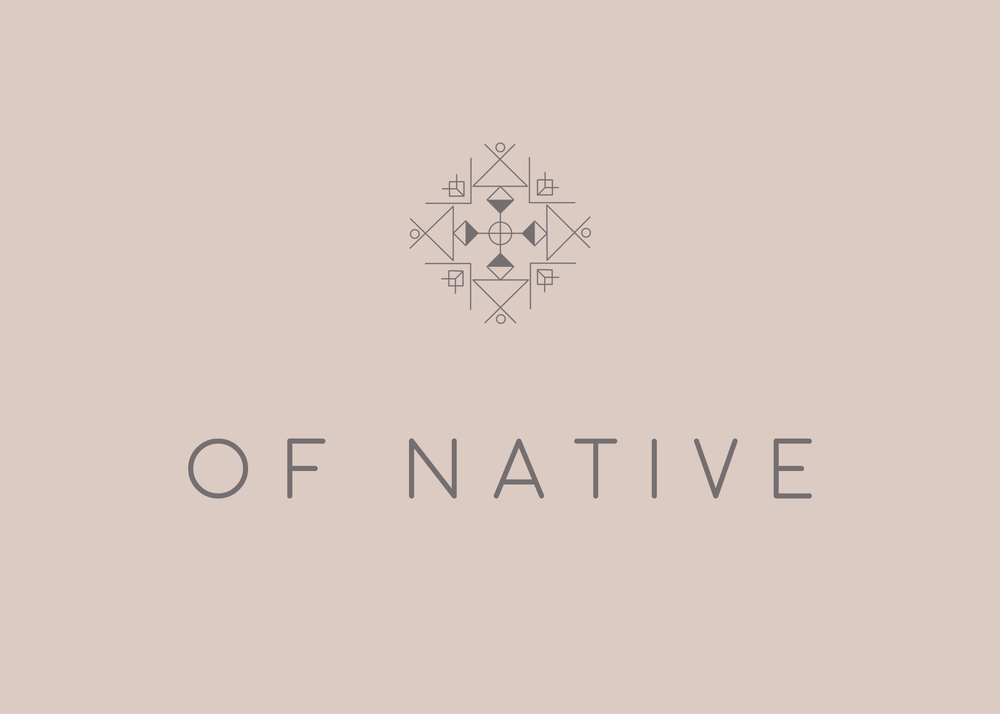 Of Native Full Brand Concept | Reux Design Co.