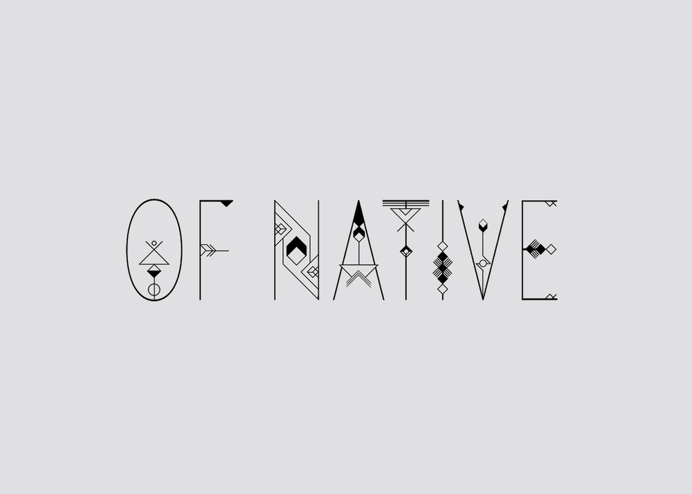 Of Native Jewelry brand identity logo design | Reux Design Co.