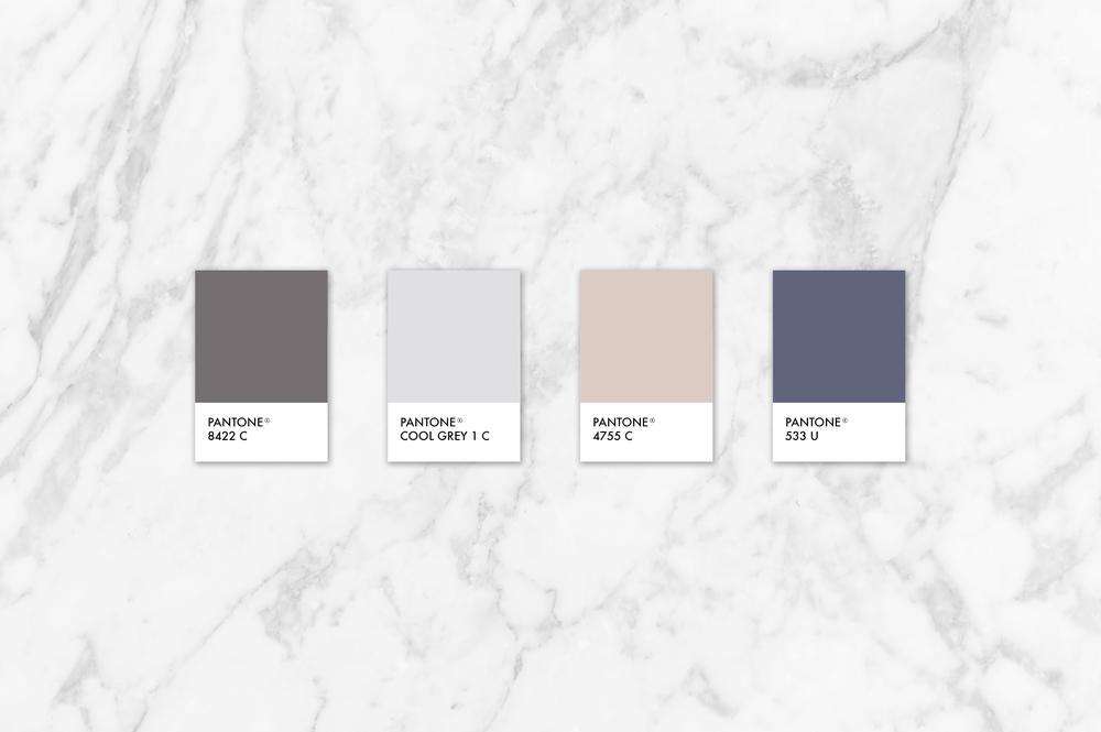 Natural, minimal, neutral brand color paletter | Reux Design Co.