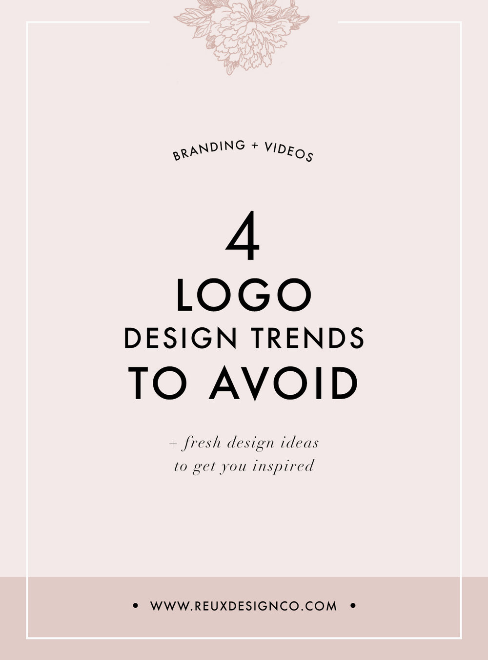Logo design trends you should avoid if you're DIY-ing your branding | Reux Design Co.