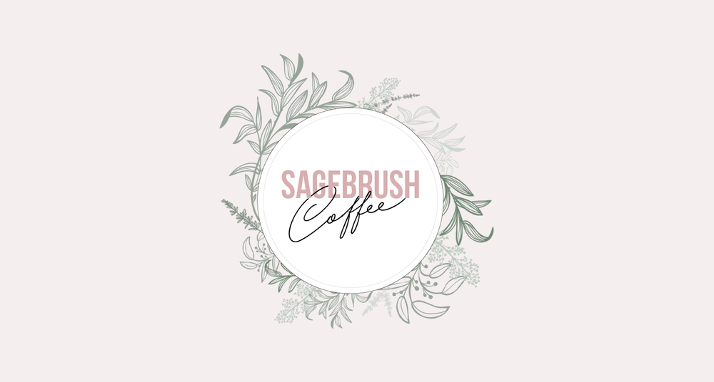 sagebrush logo coffee shop design | reux design co.