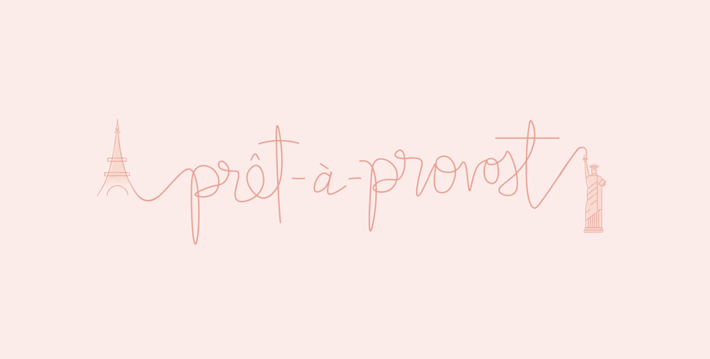 pret a provost brand + blog identity design by Reux Design Co.