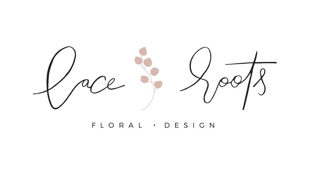 Laceroots Floral wedding florist brand design | Reux Design Co.