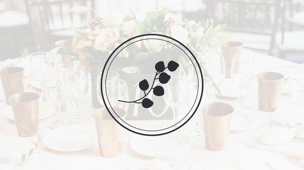 eucalyptus design for florist rebranding | Reux Design Co.