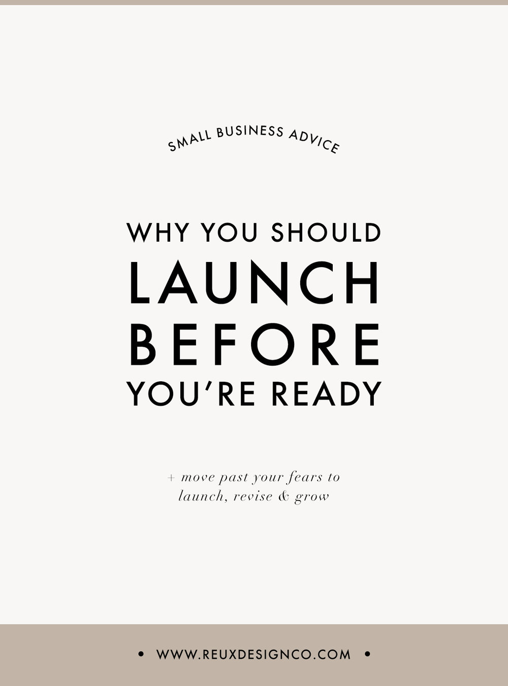 When to launch your business or product | Reux Design Co.
