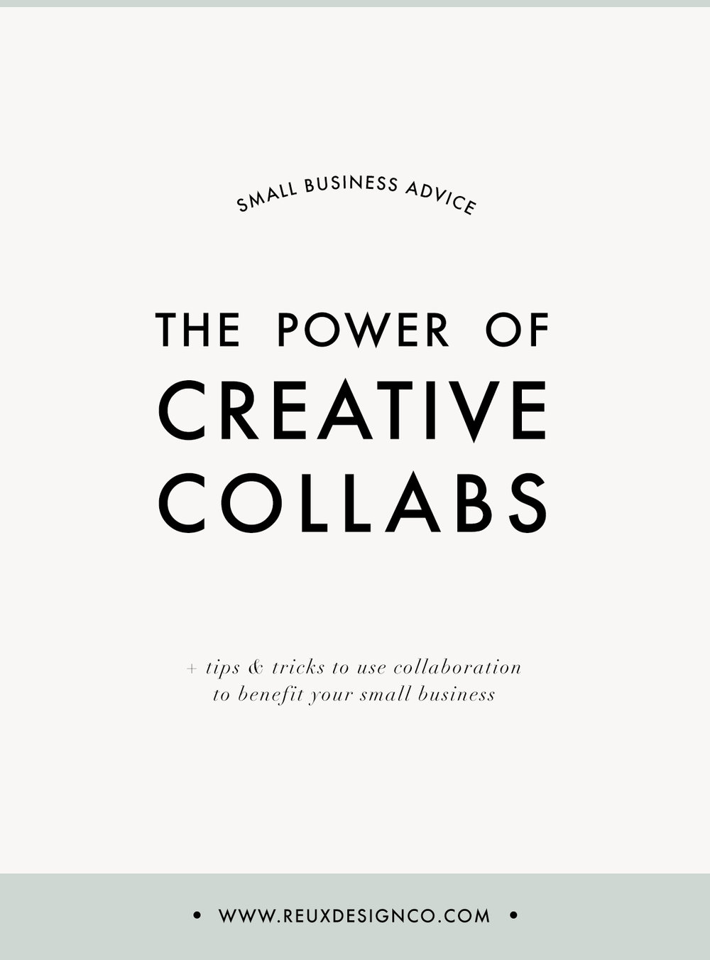 The power of creative collaborations to grow your small business | Reux Design Co.