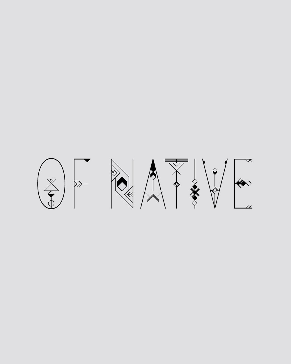 Of Native brand identity | Reux Design Co.