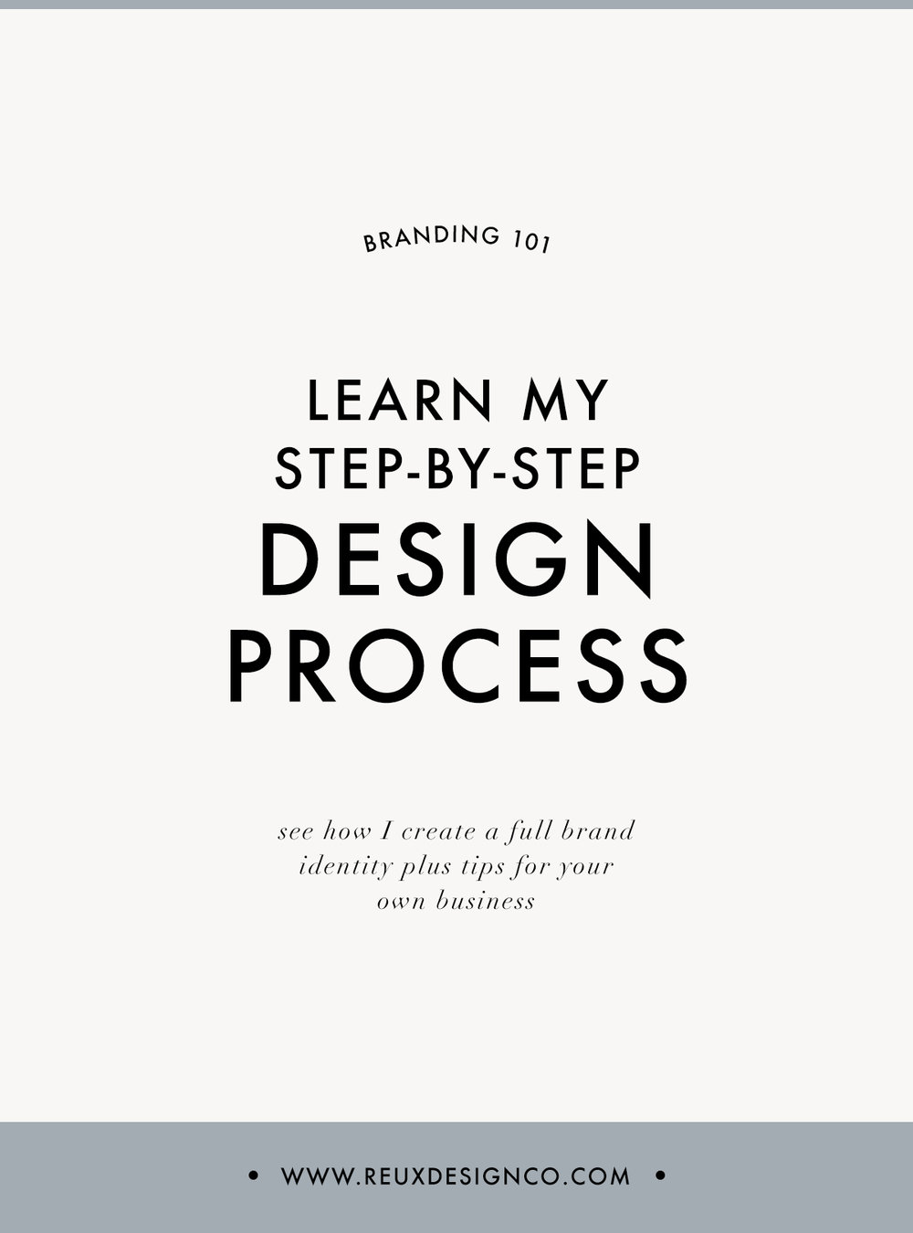 See my entire branding design process | Reux Design Co.