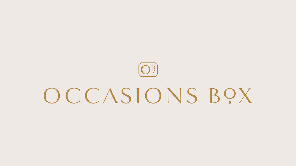 Occasions Box Brand Design: Logo Design | Reux Design Co. | Boutique Branding Studio for Holistic and Conscious Small Businesses