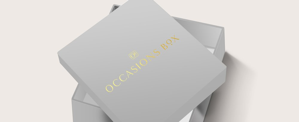 OCCASIONS BOX | Brand Identity Design | Reux Design Co.