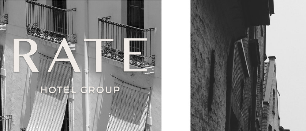 RATE Hotel Group | Brand Identity Design | Reux Design Co.