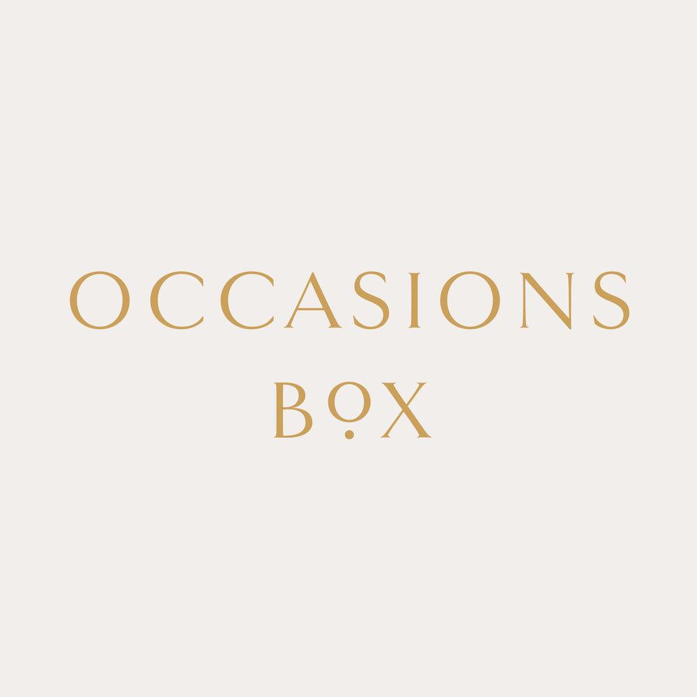 Occasions Box Brand Identity Design | Reux Design Co.