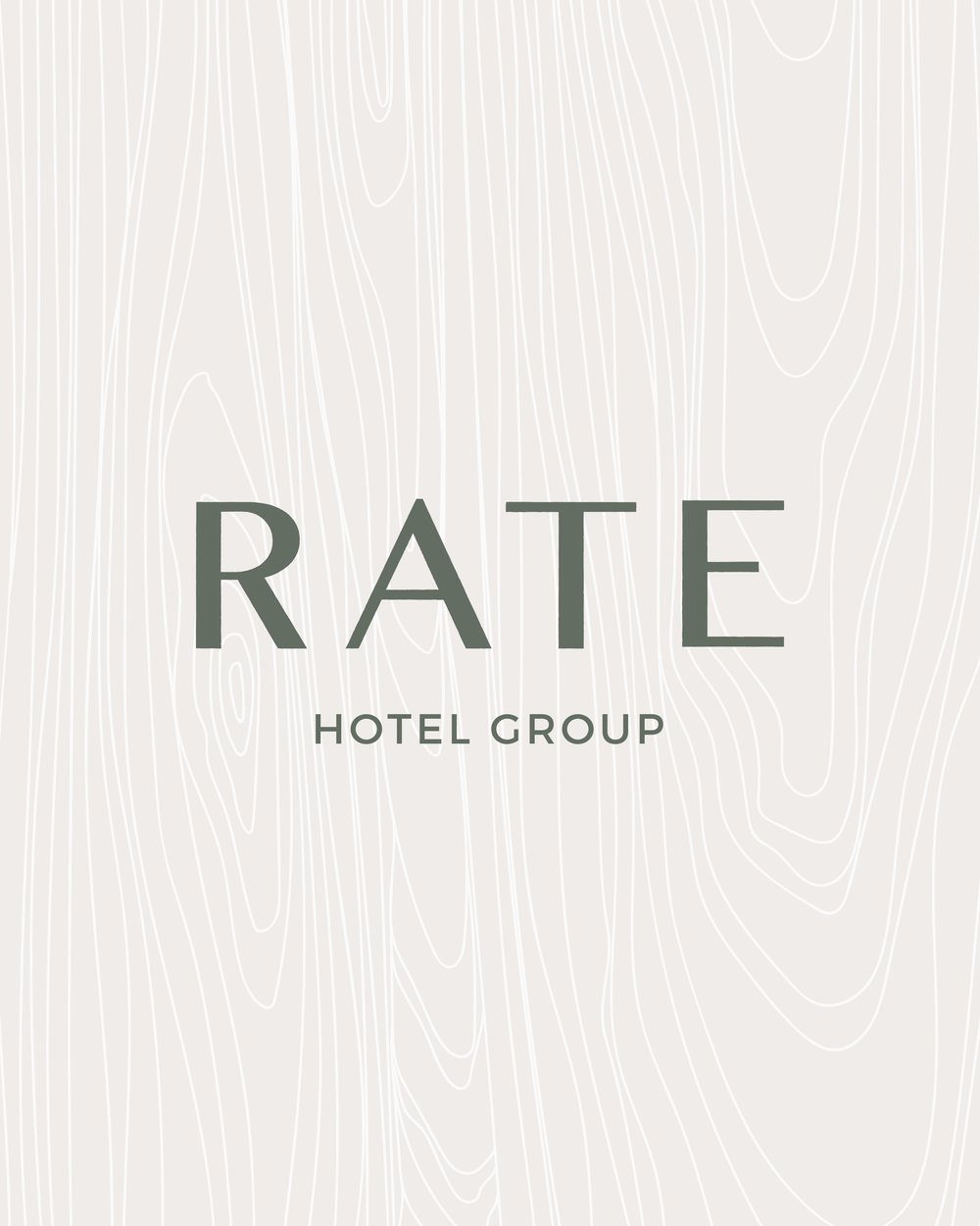 RATE Hotel Group Brand Design | Reux Design Co.