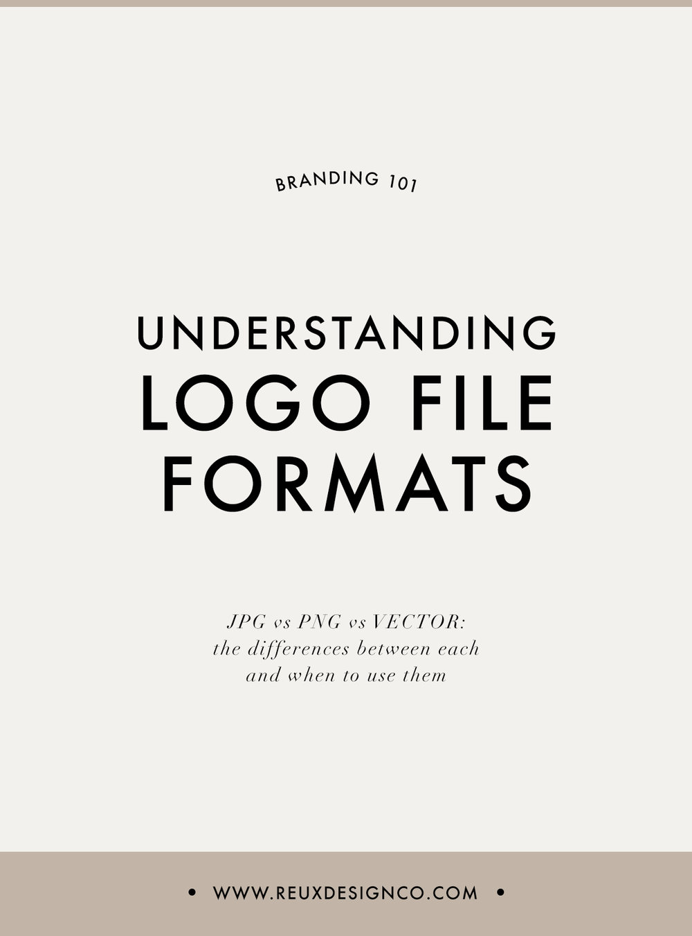 Understanding the Different Logo + Branding File Types (JPG, PNG, VECTOR) | Reux Design Co.