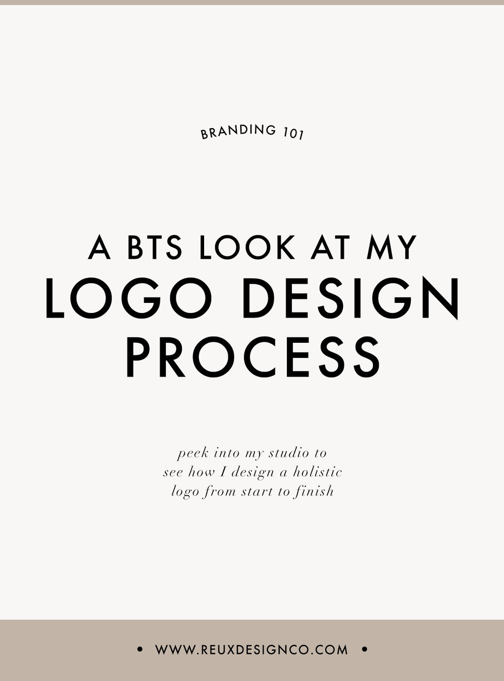 My Full Logo Design Process | See How I Design a Holistic Logo | Reux Design Co.