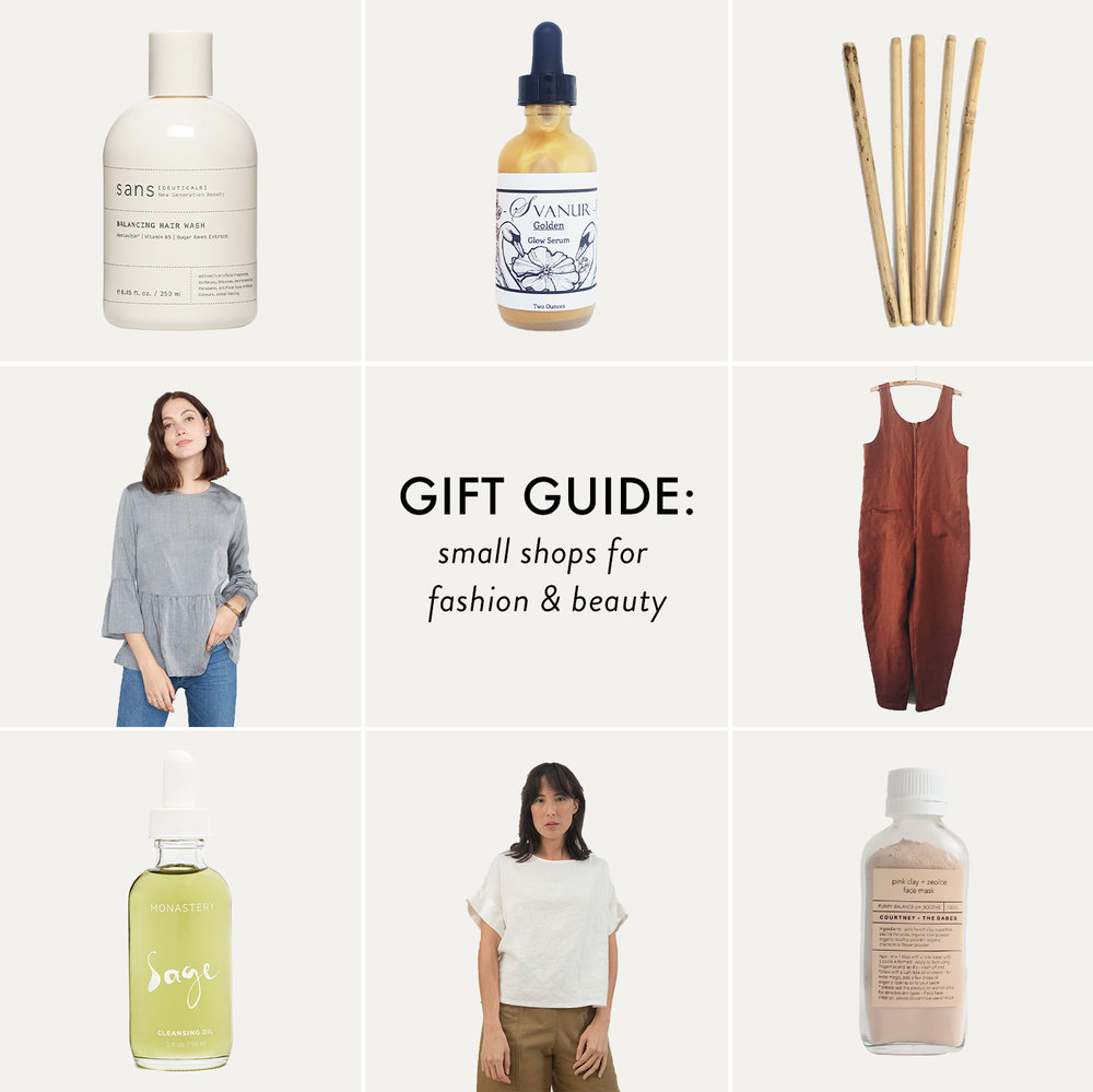 Small Business Saturday Gift Guide | Little Shops for Fashion, Beauty, and Wellness | Reux Design Co.