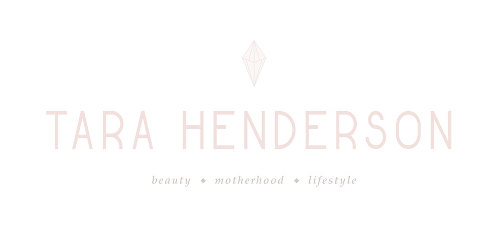 Tara Henderson — modern, feminine, girly, minimal brand design for a lifestyle/motherhood YouTuber | by Reux Design Co.