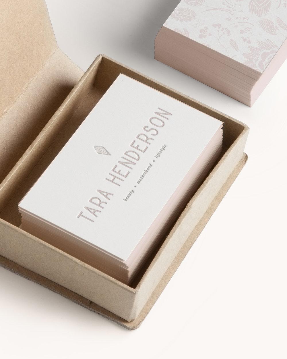 Tara Henderson brand identity + youtube branding | Reux Design Co.
