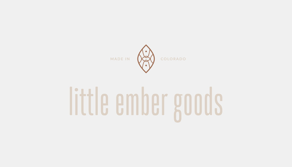Little Ember Goods | organic, natural, intentional design | Reux Design Co.