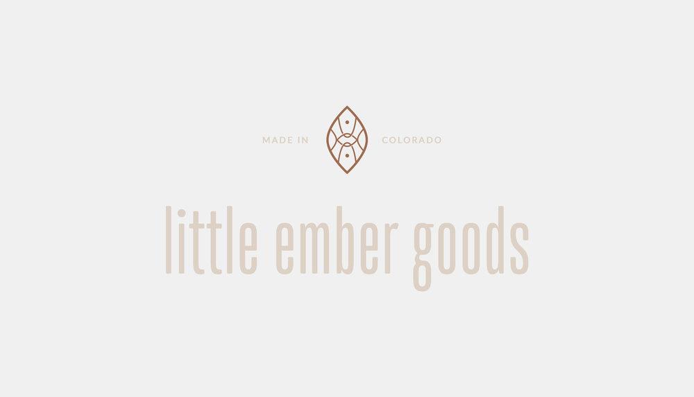 Little Ember Goods | organic, natural, intentional design | Reux Design Co.