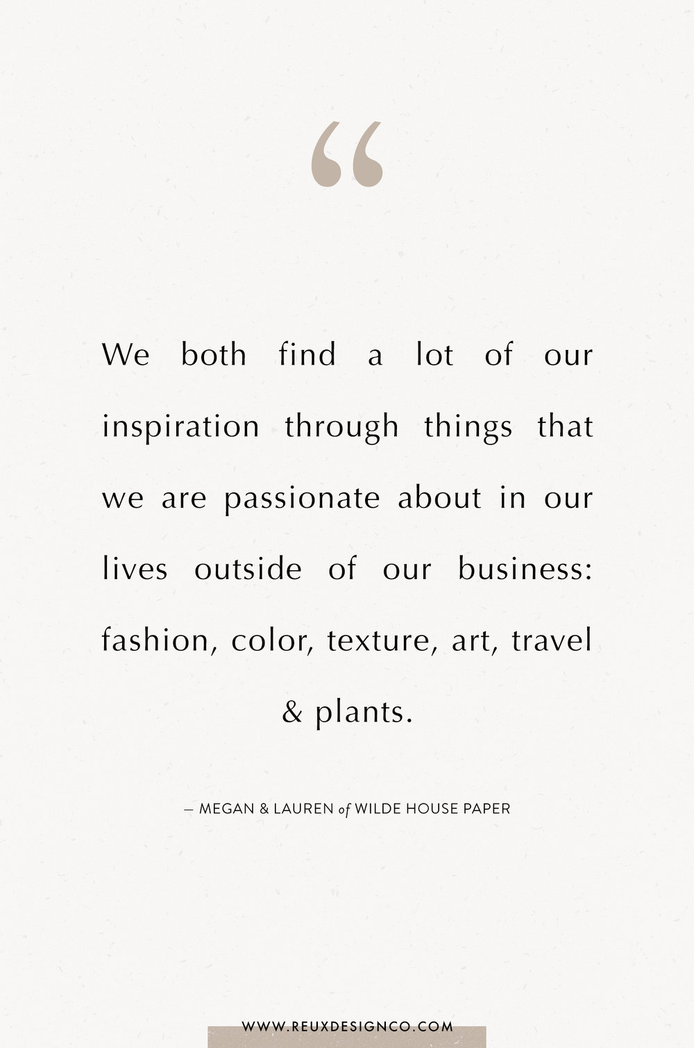 Branding + Business Tips from Lauren & Megan of Wilde House Paper on the Reux Design Co. blog | positive affirmations, quotes on energy, quotes on abundance, affirmations on creativity, affirmations for women, affirmations for entrepreneurs, words to live by, build a sustainable business you love