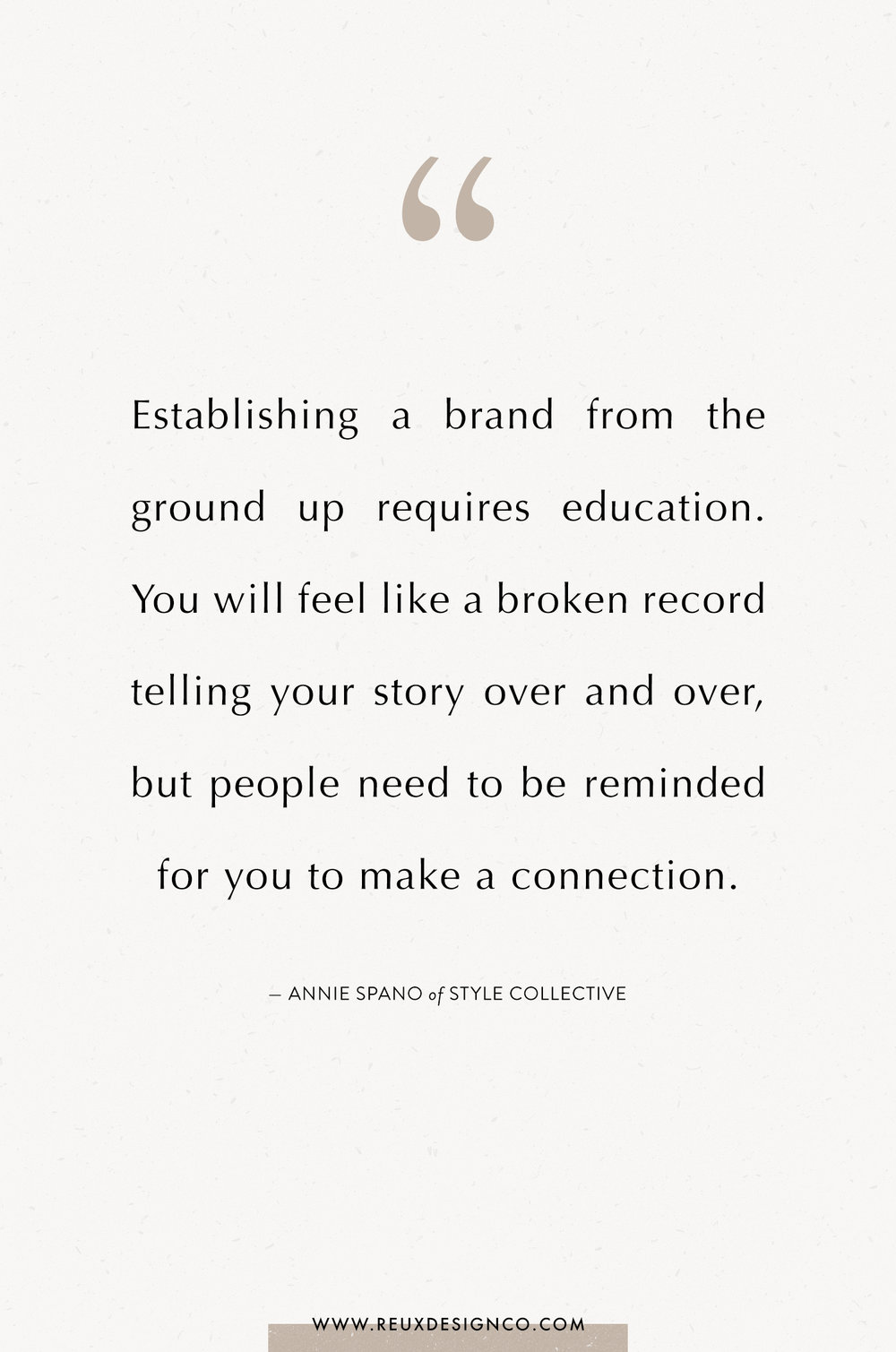 Branding + Business Tips from Annie Spano from Style Collective on the Reux Design Co. blog | positive affirmations, quotes on energy, quotes on abundance, affirmations on creativity, affirmations for women, affirmations for entrepreneurs, words to live by, build a sustainable business you love
