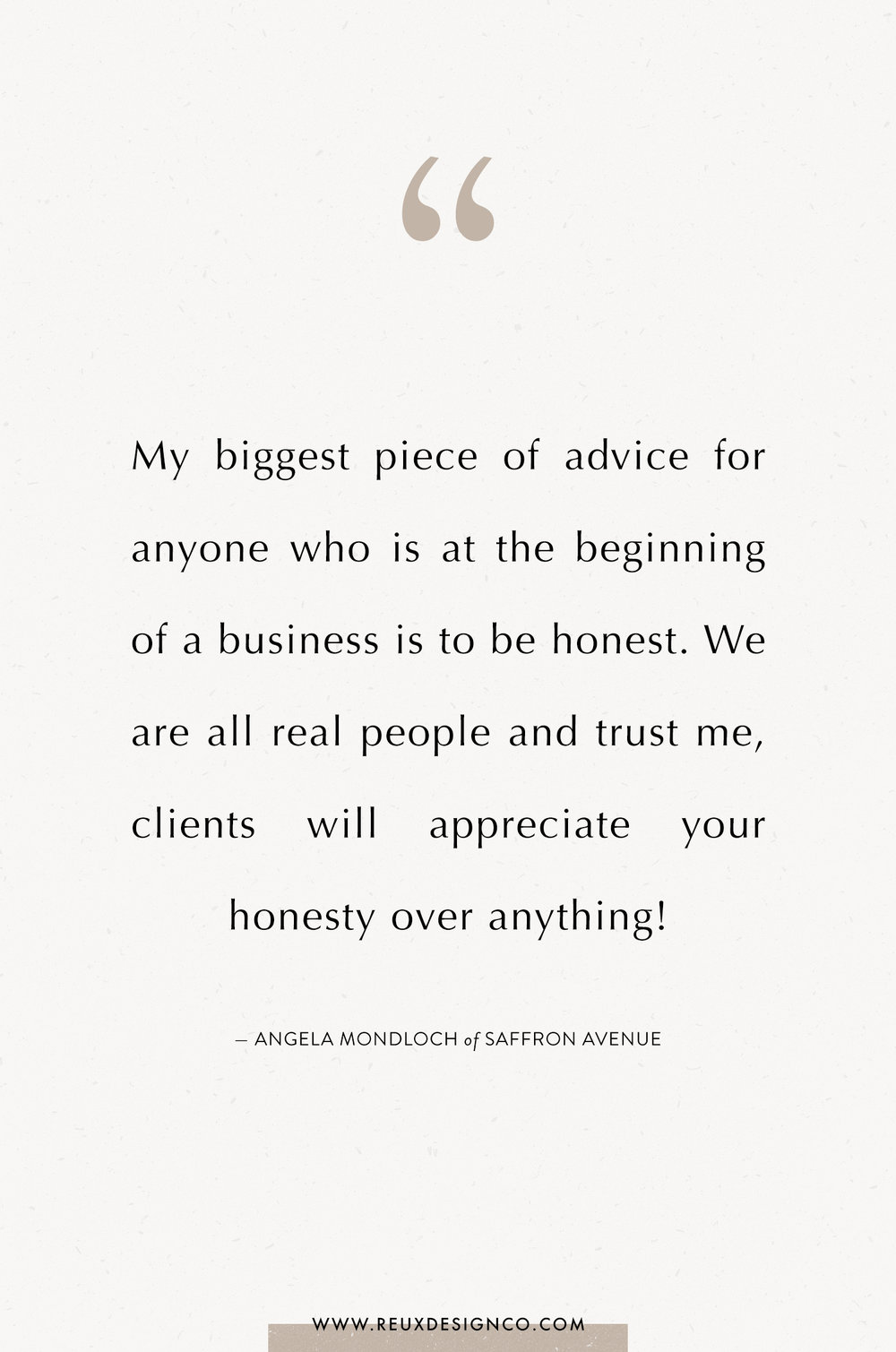 Branding + Business Tips from Angela Mondloch of Saffron Avenue on the Reux Design Co. blog | positive affirmations, quotes on energy, quotes on abundance, affirmations on creativity, affirmations for women, affirmations for entrepreneurs, words to live by, build a sustainable business you love