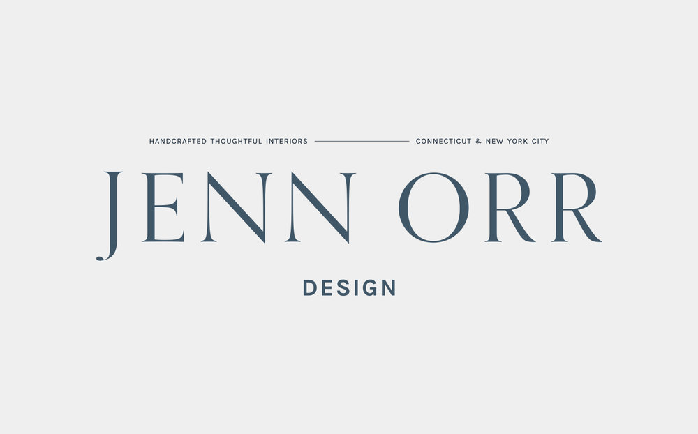 Logo design inspiration | Timeless, Classic, Neutral brand design for interior designer | by Reux Design Co.