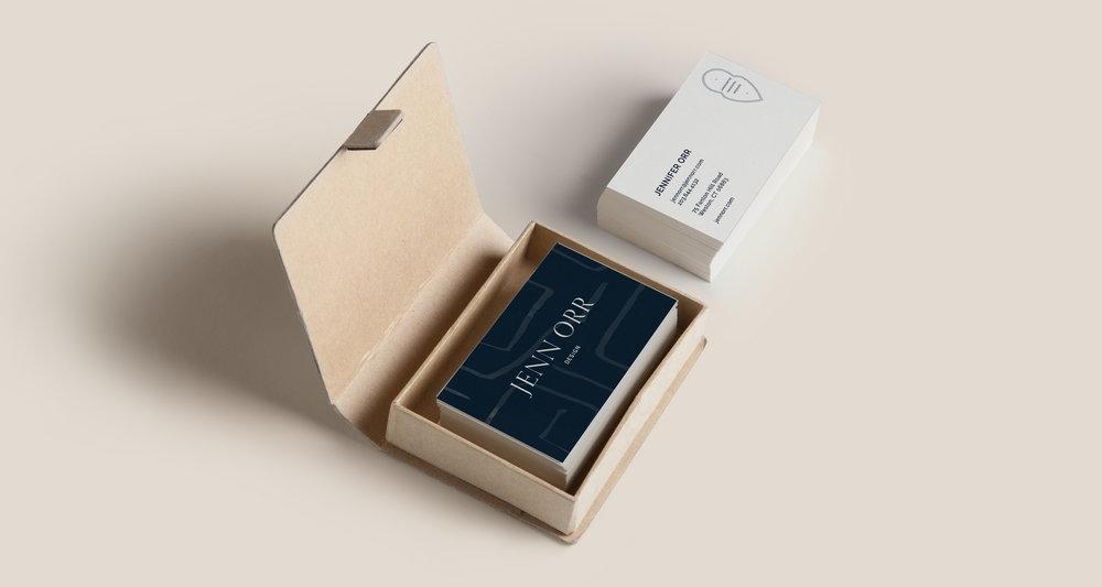 Business Card Design inspiration | Timeless, Classic, Neutral brand design for interior designer | by Reux Design Co.