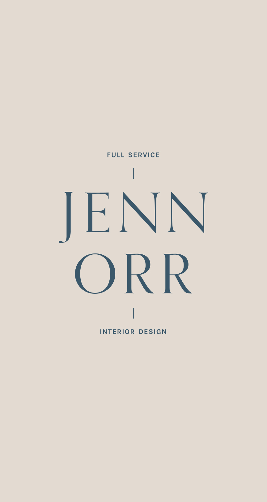logo designs | Timeless, Classic, Neutral brand design for interior designer | by Reux Design Co.