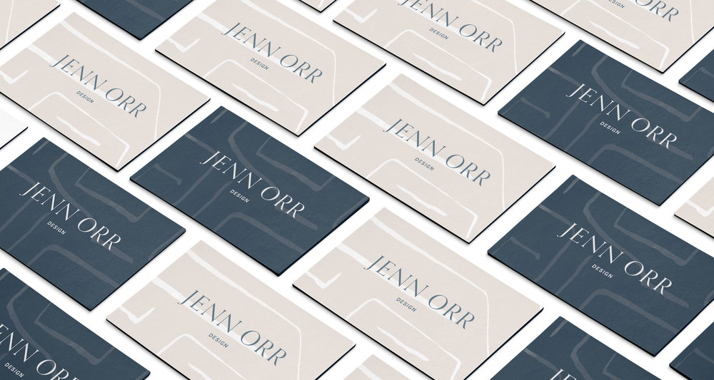 business cards design inspiration | Timeless, Classic, Neutral brand design for interior designer | by Reux Design Co.