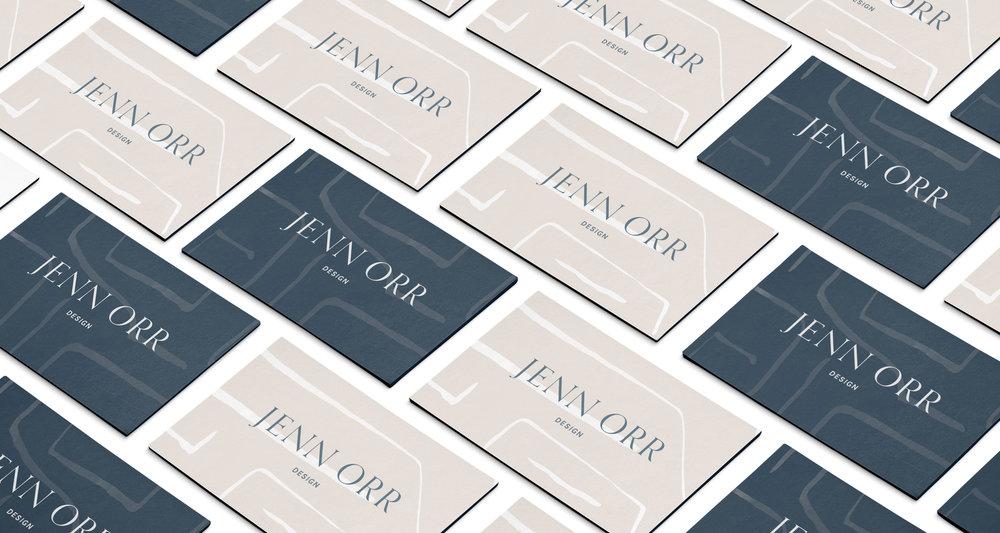 business cards design inspiration | Timeless, Classic, Neutral brand design for interior designer | by Reux Design Co.
