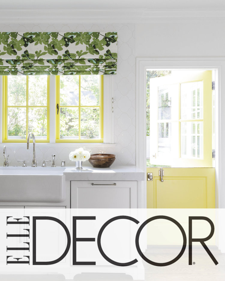 Elle Decor - October 2017You've